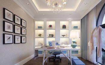180平新古典混搭风格四居室装修案例