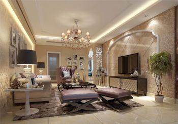 碧桂园现代欧式风格四居室装修效果图