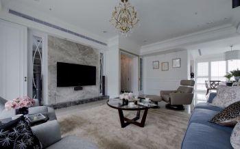 新古典风格简单家居装修案例图
