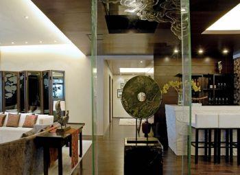 金合园新中式典雅风格四居室装修