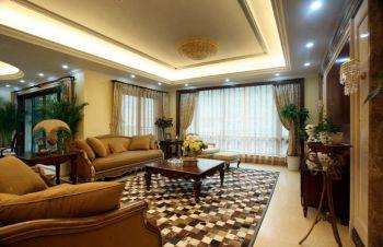 广顺园现代欧式风格装修四居室实景图