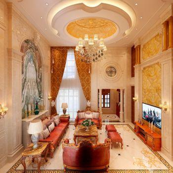 乔治庄园别墅现代欧式风格装修效果图