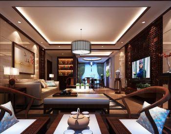 中式风格大户型家居设计效果图