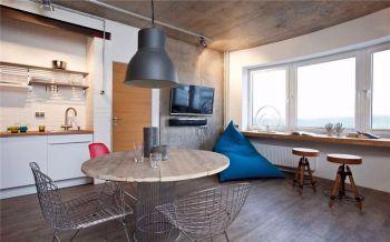 后现代风格小户型舒适公寓装修效果图