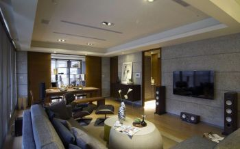 现代简约式家居样板间设计