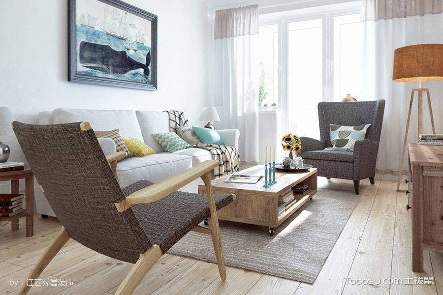 北欧简约风格舒适家居样板房