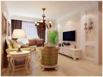橡树湾88平简欧风格两居室设计图