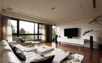简约风格三室两厅户型案例图