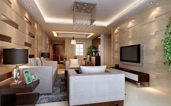 华府骏苑三室两厅现代简约风格装修效果图