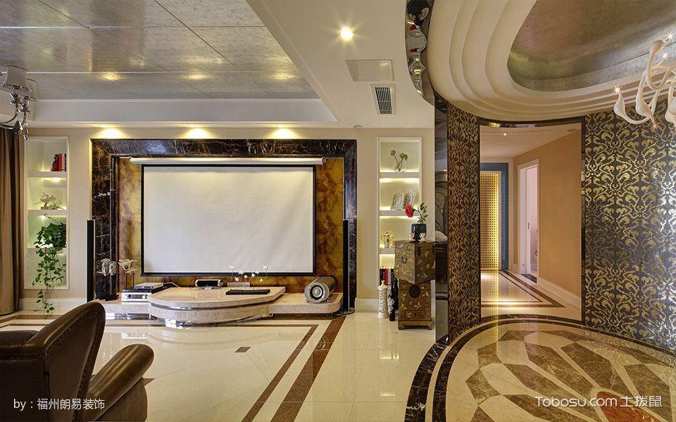三迪香颂枫丹现代风格大户型装修案例图