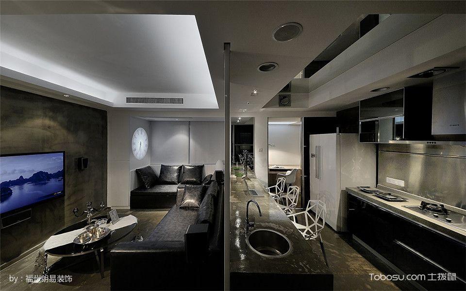 五凤兰庭后现代简约风格小面积家居装修图片