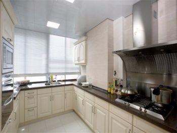 潮流米色廚房裝修設計圖片
