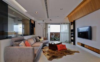 2020現代簡約客廳裝修設計 2020現代簡約吊頂圖片