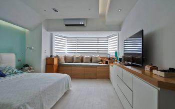 2020現代簡約臥室裝修設計圖片 2020現代簡約飄窗裝修圖片