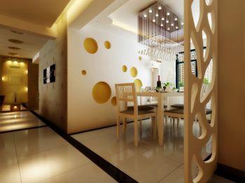 阳光100简约风格两室两厅装修案例图