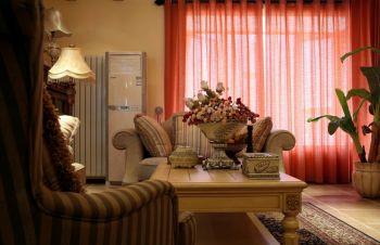 新闻西里新中式风格三居室设计案例图