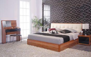 簡約臥室背景墻室內裝修設計