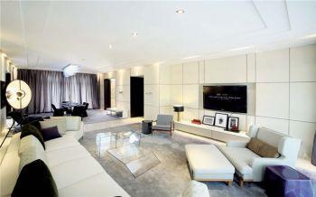 天麓尚层现代简约风格二居室精品案例效果图