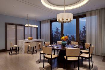 枫丹苑现代中式风四居室装修效果图