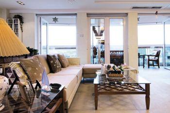 150平简单风格都市家居装修