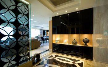 现代简约风格平层四居室设计案例