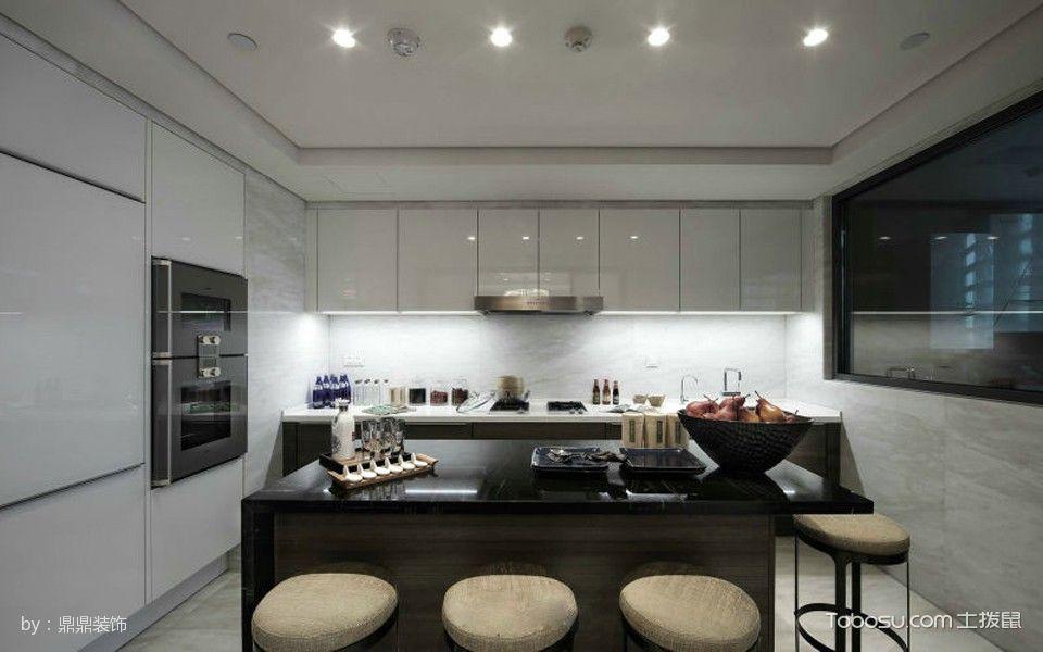 厨房吧台新中式风格装饰图片