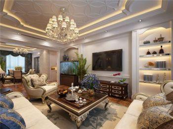 欧式风格豪华套房家居装修