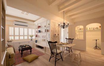 北欧混合两居室装修效果图