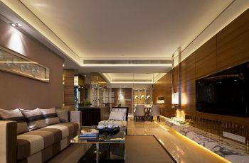 现代典雅风格三居室装修效果图