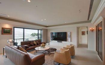 简约风格平层四居室案例图