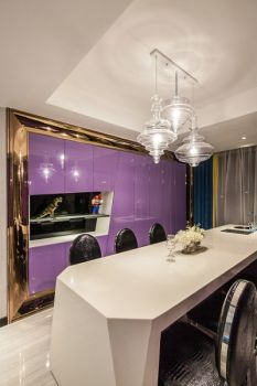 2019现代简约100平米图片 2019现代简约二居室装修设计