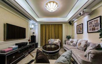 2021美式100平米图片 2021美式二居室装修设计