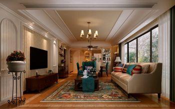 2021美式150平米效果图 2021美式四居室装修图