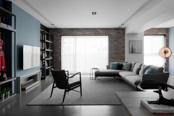 混搭简约风格三居室案例装修图