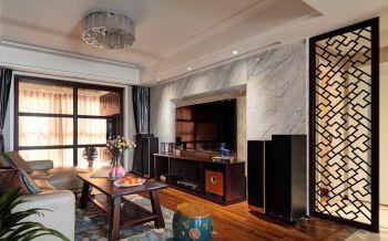 北环阳光108平混搭简单三居室装修案例