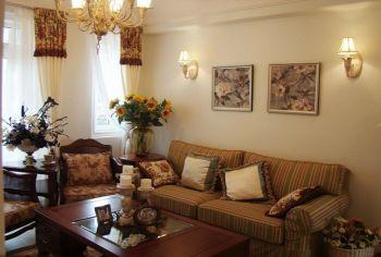 金狮家园美式风格三居室装修图