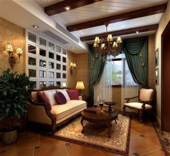 欧式豪华风格四居室装修案例图