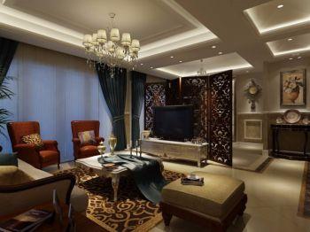 2018现代欧式150平米效果图 2018现代欧式四居室装修图