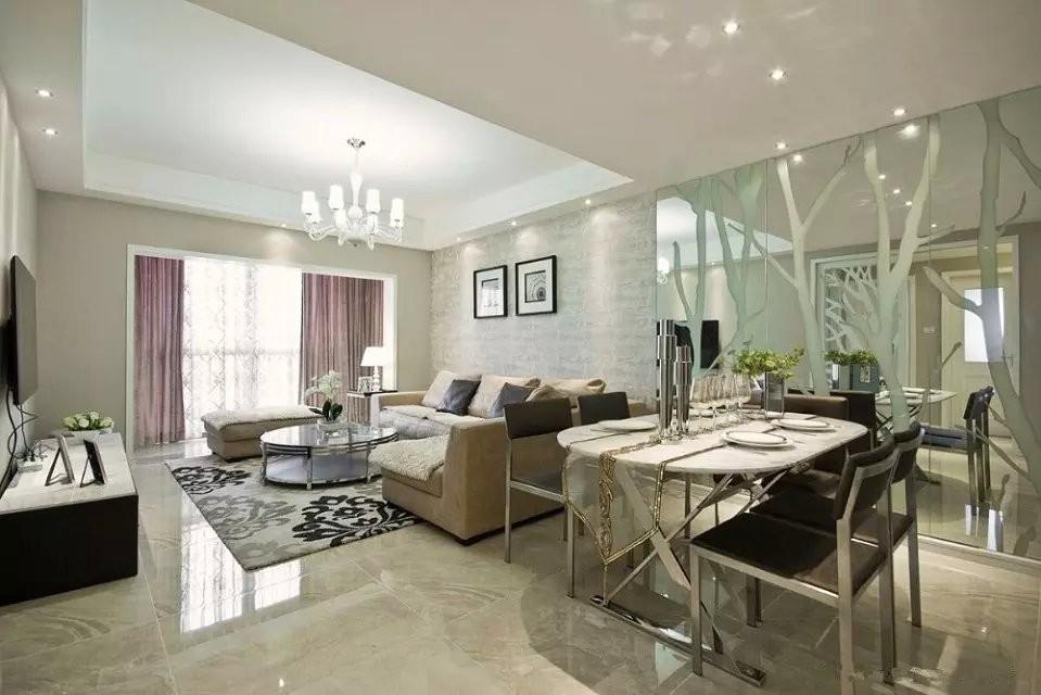 3室2卫2厅88平米现代简约风格