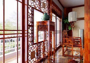 名都新苑中式古典风格装修