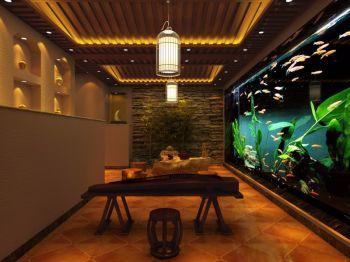 休闲茶室室内装修效果图