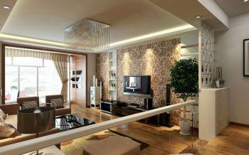 阳光华苑120平米三居室现代简约效果图
