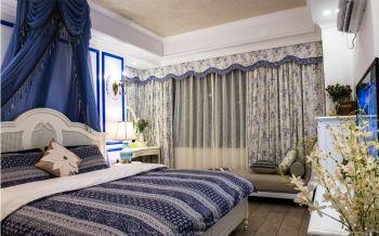 精致地中海窗簾構造圖