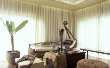 2020簡約客廳裝修設計 2020簡約窗簾裝修圖