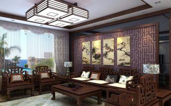 中式古典三居室雅致案例图