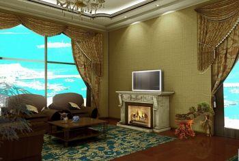 天荣公寓欧式混搭风格设计图片