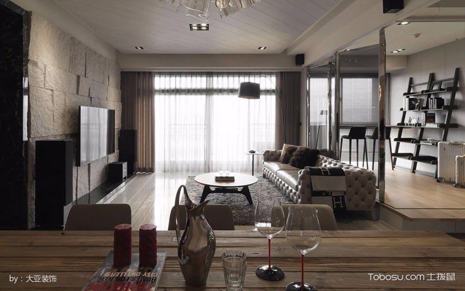 2019古典100平米图片 2019古典二居室装修设计