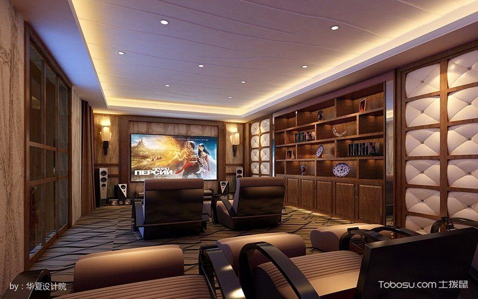 深圳中式别墅室内效果图设计