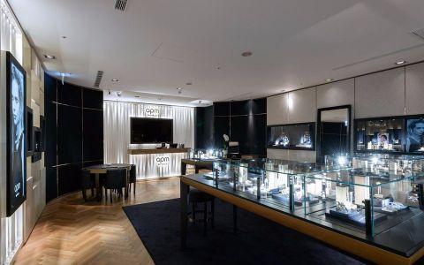 珠宝店装修效果图案例