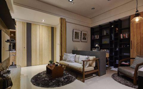 2018简约70平米装修效果图大全 2018简约二居室装修设计